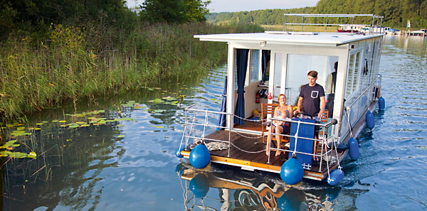 Hausbootfahren – kann ich das auch?
