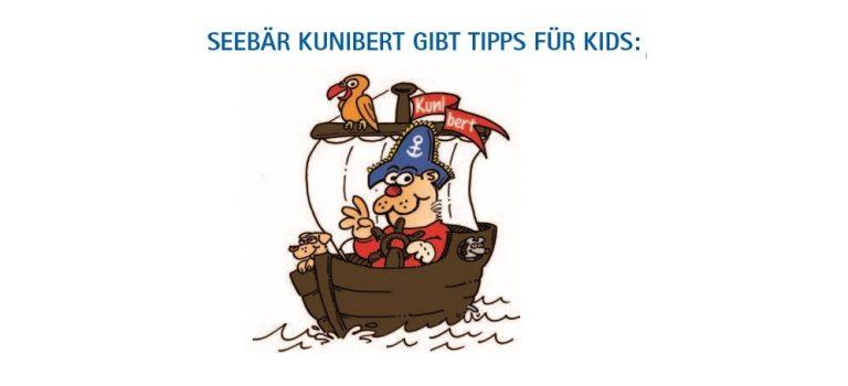 Seebär Kunibert gibt Tipps