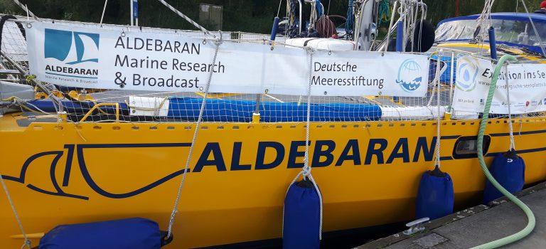 Forschungsschiff Aldebaran nimmt die Müritz ins Visier