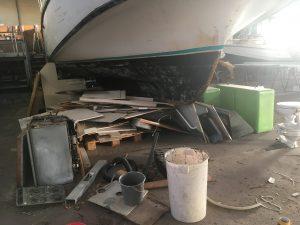 Umbau der Pirate 1200 G - Renovierung des Bootes