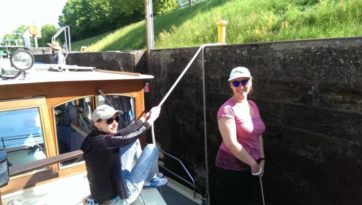 Hausbooturlaub in Niderviller - Kormoran Kuhnle-Tours - Törnbericht