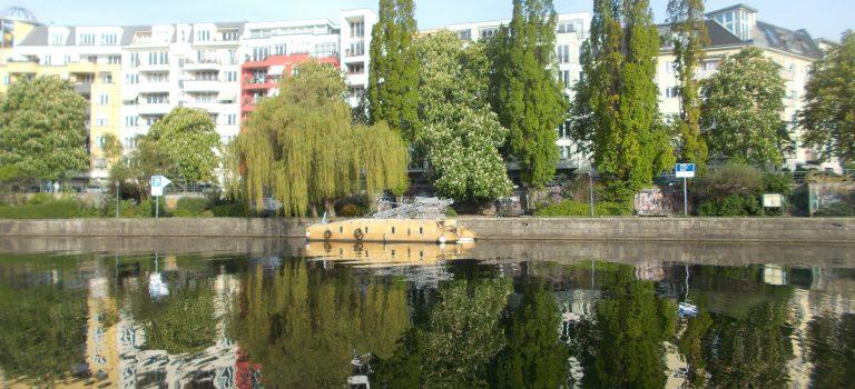 Berlins öffentliche Sportbootliegestellen (1) von Land aus erkundet
