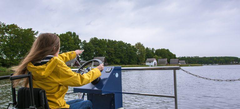 Bootsurlaub auf Rädern