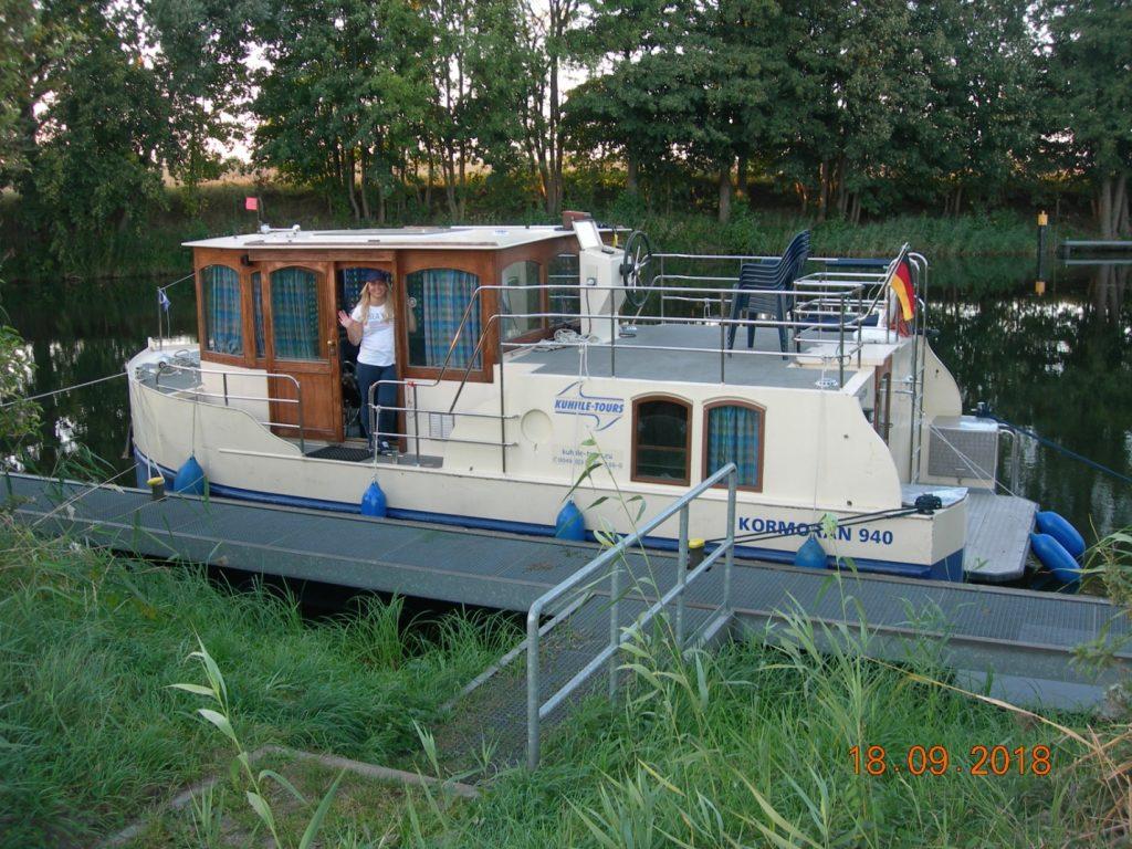 Hausboot Kormoran - Erfahrungsbericht