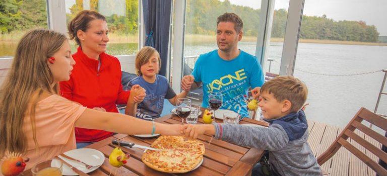 Rezept für die Bordküche: Flying Dutchman (Pizza)