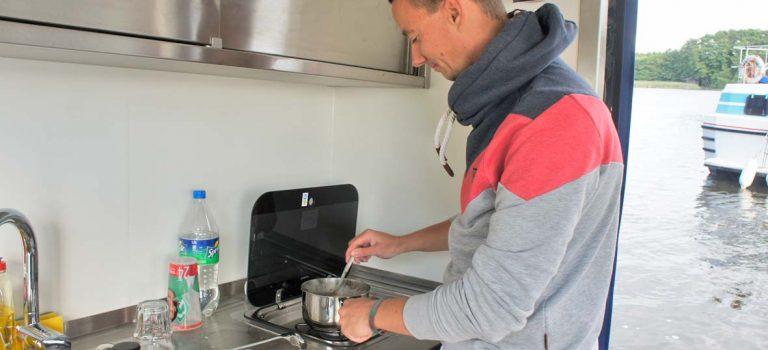 Spagetti Cabonara – Rezept für die Bordküche