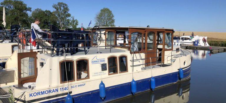 Hausboottour auf dem Rhine Marne Canal