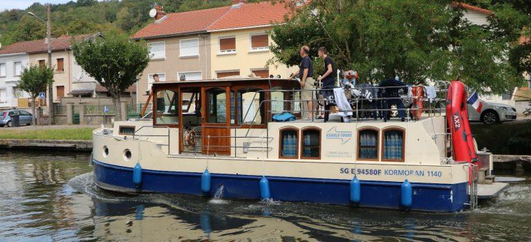 Auf-Kanaltour in Frankreich