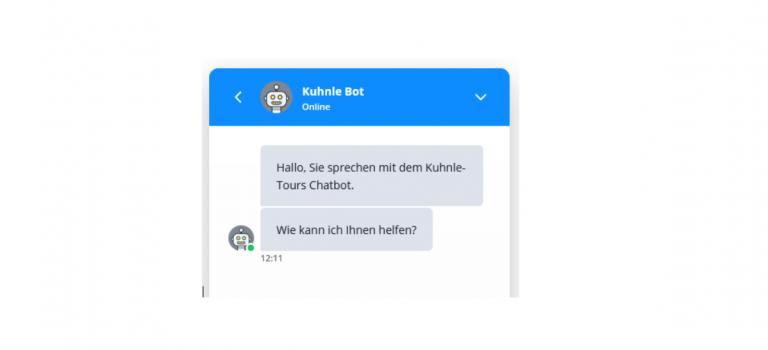 Die KUHNLE-GROUP bekommt einen Chatbot