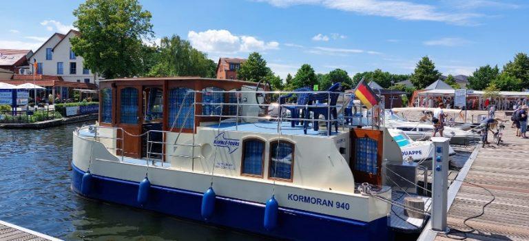 Urlaub mit einem Kormoran 940 von KUHNLE-TOURS der Familie Thieme